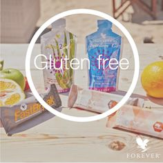Did you know more than 100 Forever products are gluten free?  This includes Forever Aloe2Go, Forever Freedom2Go, Forever Fastbreak, Forever Pro X2 Chocolate, and Forever Pro X2 Cinnamon.