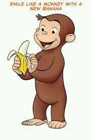 Image result for monkey with banana gift