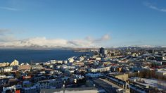 Overlooking Reykjavik during a quick winter trip.