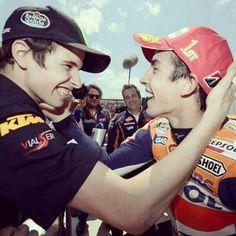 Marc Marquez and Alex Marquez