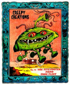 Creepy Creations No.13 - The Five Footed Fiend From Fleet by Aeron Alfrey, via Flickr