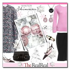 """""""Holiday Sparkle With The RealReal: Contest Entry"""" by court8434 ❤ liked on Polyvore featuring Giamba, Louis Vuitton, Martha Stewart, Luca Carati, Prada, D&G, Fendi, Lorraine Schwartz and Ippolita"""