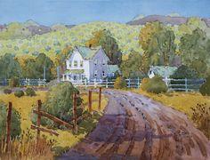 J Hicks Fine Art watercolor