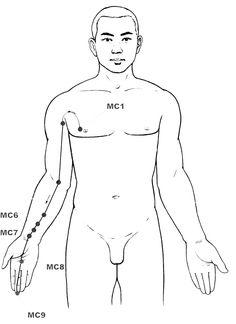 Pericardium #acupressure #reflexology meridian • Press any sore point on that…