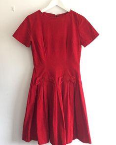 New product vintage corduroy dress with bow#fab.#vintagefashion #1950s #1960s #1970s #ヴィンテージ#ビンテージ #ヴィンテージファッション #ヴィンテージワンピース #ヴィンテージドレス #古着 #コーデュロイ