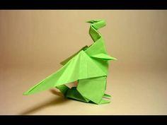 Origami Dragon - Dragão de Origami (Gilad Aharoni) _ http://www.comofazerorigami.com.br/