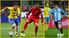 Neymar and Messi and Ronaldo http://www.ronaldogoals.net/2015/02/neymar-and-messi-and-ronaldo.html