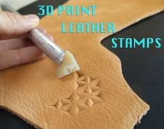 Good links to companies that do printing. Print Your Own Leather Stamps. Maybe something for Printer Chat? 3d Printing Diy, 3d Printing Service, Printing Services, Impression 3d, Leather Carving, Leather Tooling, 3d Printed Objects, 3d Printed Jewelry, Art For Sale Online