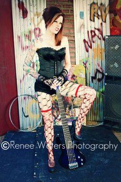 Renee Waters Photography. Rebecca Vendetta. H&MU: Amber Assassin. #Tattoos #TattooedGirl #Ink #Inked #TattooedChick #Tattooed #Lifestyle #PinUp #Fetish #RebeccaVendetta #Rebecca #Vendetta #Photography #Modeling #2011