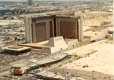 MGM Grand Las Vegas – now Ballys – The former Galaxy Motel in the lower left is now the location of the Paris Las Vegas Eiffel Tower. Las Vegas Strip, Las Vegas Love, Paris Las Vegas, Vegas Fun, Las Vegas City, Las Vegas Photos, Vegas Casino, Las Vegas Nevada, Travel