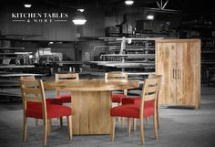 You won't find more appealing rectangular or round dining room tables at better prices anywhere else. And you definitely won't be treated with the same high standard of customer service.  #KitchenTables #CustomFurniture #RoundTables #DiningRoomFurniture
