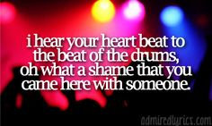 """""""So while you're here in my arms, let's make the most of the night like we're gonna die young!""""... """"Die Young""""- Ke$ha <3."""