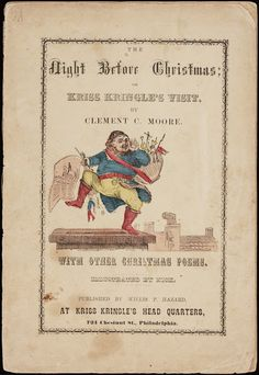The Night Before Christmas, with Other Christmas Poems. Printed in Philadelphia, 1858. | In the Swan's Shadow