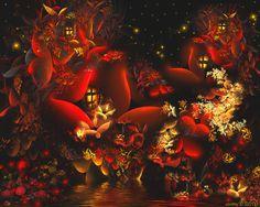 fractal fairy   Fairies Land by SARETTA1