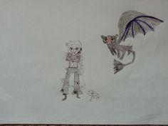 magniss & female #nightfury 2011 #howtotrainyourdragon, #httyd