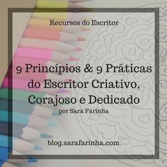 9 Princípios e 9 Práticas do Escritor Criativo e Dedicado (com pdf para download grátis) Download, Writer, Reading, Creativity