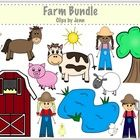 Free!  This set of 32 images is perfect for creating teaching units centered around a farm theme!      Included in the download:    -4 farmers (2 girls, 2 boy...