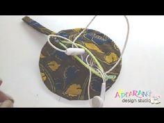 How to make an earphone caser - DIY earphones holder