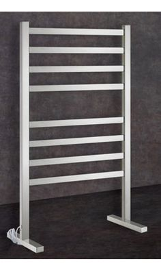 Thermogroup Thermorail Floorstanding Square Dry Electric Towel Rail - 900 X Electric Towel Rail, Electric Radiators, Central Heating, Wall Spaces, Energy Efficiency, Ladder, Orlando, Contemporary, Disney