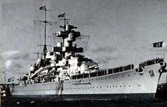Admiral Hipper Class Heavy Cruiser KMS Blucher