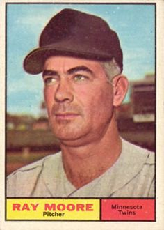 1961 Topps #289 Ray Moore Front