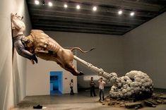 """Các tác phẩm điêu khắc """"Những gì bạn thấy Might Not Be Real"""" bởi Chen Wenling"""