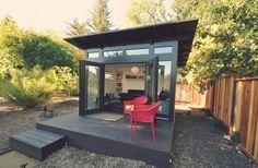 Studio Shed, Louisville, CO, USA. Modern, Prefab Backyard Studios/Office/Guest Sheds  & DIY Kits