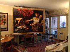 Giuditta ed Oloferne /Copia Caravaggio/ olio su tela cm.200x120