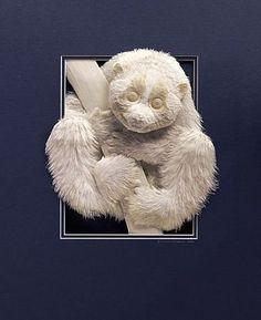 Мобильный LiveInternet Бумажный зоопарк Calvin Nicholls | про_искусство - Сообщество «Про искусство» |