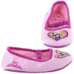 Disney Princess Mary Jane Slippers Slipper Shoes Pink Toddler Girls Disney. $4.99