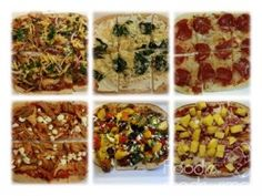 21 Day Fix Flat Out Pizza's 21 Day fix Recipe