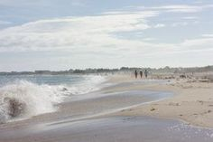 East Beach, Charlestown, Rhode Island, USA, went here on vaca. huge waves, taller than my dad ahhhh lml