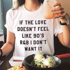 90'S R&B TEE                      – hazylines
