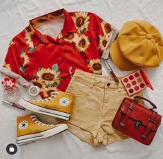 Style Outfits, Retro Outfits, Mode Outfits, Cute Casual Outfits, Vintage Outfits, Summer Outfits, Girl Outfits, Fashion Outfits, Aesthetic Fashion
