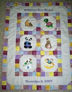 machine embroidery designs at embroidery library search childrens quiltsbaby quiltsembroidered quiltsquilt
