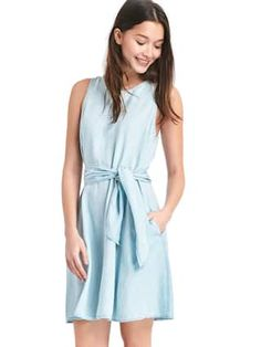 TENCEL™ fit and flare dress | Gap, 55.