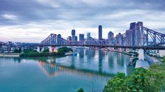 Great pic of the Story Bridge in Brisbane