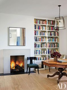 Rose Uniacke Transforms Screenwriter Peter Morgan's Historic London House