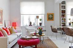 The cozy Scandinavian style