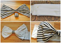 How to make a bandeau from Trash to Couture