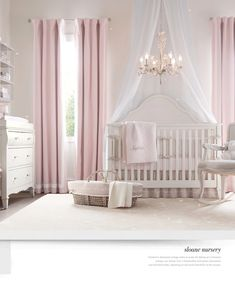 Curtains In The Nursery For Girls Restoration Hardware Baby Restoration Hardware And Nurseries