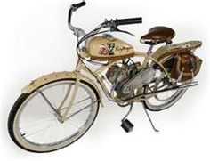 1950 Whizzer Roy Rogers Motorcycle