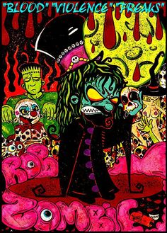 Rob Zombie Art Gallery - Bing images