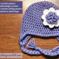 Earflap Hat – Free Crochet Pattern February 11, 2014 ~ 16 Comments