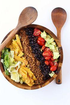 Vegan Taco Salad | My Darling Vegan