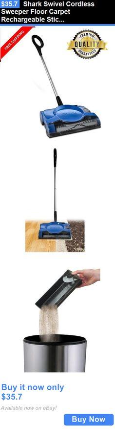 household items shark swivel cordless sweeper floor carpet stick vacuum cleaner buy it now - Shark Sweepers