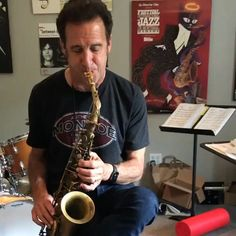 """Eric Marienthal on Instagram: """"Have you guys tried my Signature Model mouthpiece with @rrsaxmouthpieces yet? Link to purchase is in my bio 🎷"""""""
