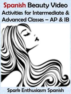 This Spanish beauty (la belleza) video activities unit includes video activitiescomprehension questions, links to videos and answer keys.  This is an excellent unit for Pre AP, AP Spanish and IB Spanish teachers to teach about the theme of La belleza y la estetica.