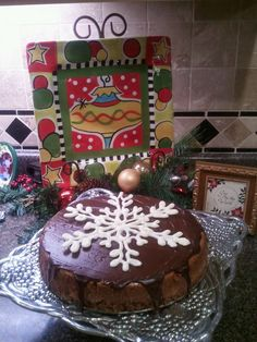 Chocolate Cheesecake I made for Christmas