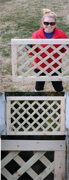 Lattice gate DIY | Rumore Has It